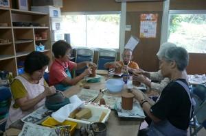 高齢者陶芸教室