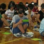 北中城小学校4年生 福祉体験_05