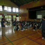 北中城小学校 福祉講演会_01