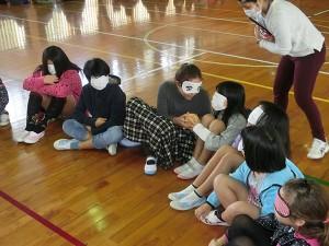 視覚障害福祉体験学習