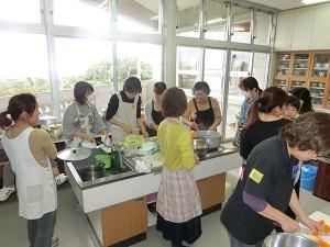 子育てサロン調理実習