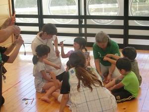 保育園児と遊ぶ会