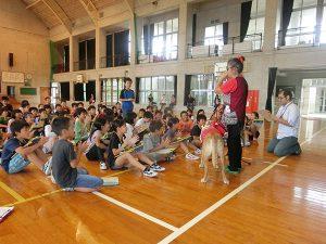 島袋小学校「福祉体験学習」